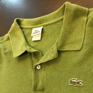 *Great Condition* Lacoste Men's Long Sleeve Polo
